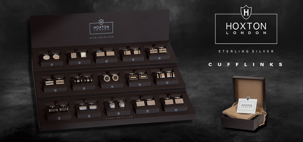 Hoxton Cufflinks, IBB London